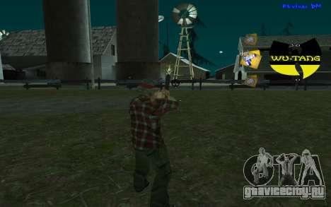 C-HUD Wu-Tang для GTA San Andreas второй скриншот