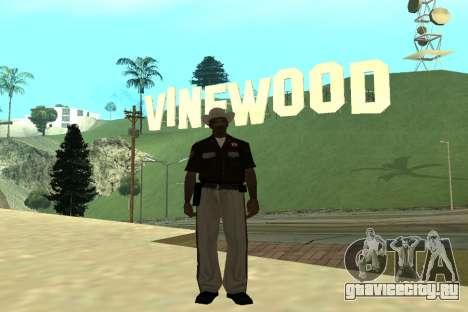 Black Police All для GTA San Andreas седьмой скриншот