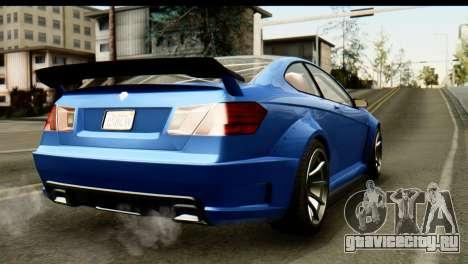 GTA 5 Benefactor Schwartzer IVF для GTA San Andreas