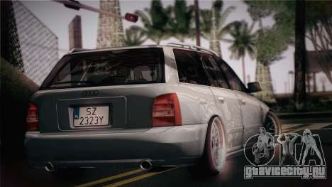Audi S4 Avant для GTA San Andreas вид слева