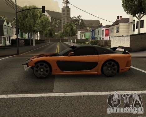 Mazda RX-7 VeilSide Drift для GTA San Andreas вид слева