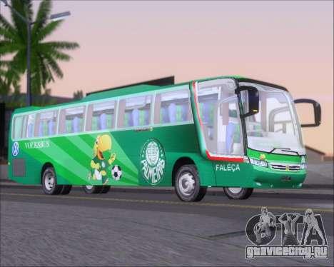 Busscar Vissta Buss LO Palmeiras для GTA San Andreas вид сзади слева