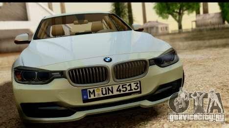 BMW 335i E92 2012 для GTA San Andreas вид сзади слева