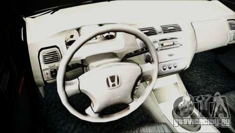 Honda Civic 2005 VTEC для GTA San Andreas вид справа