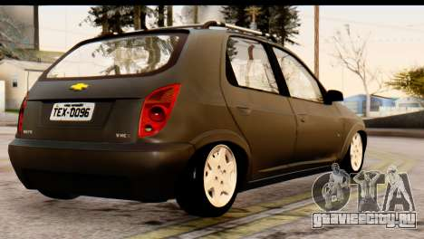 Chevrolet Celta для GTA San Andreas вид слева