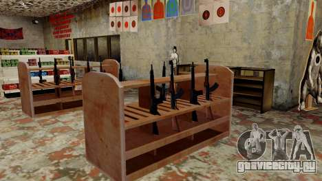3D модели оружия в Ammu-nation для GTA San Andreas девятый скриншот