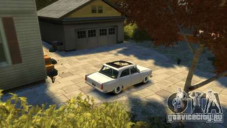 Москвич 412 для GTA 4 вид снизу