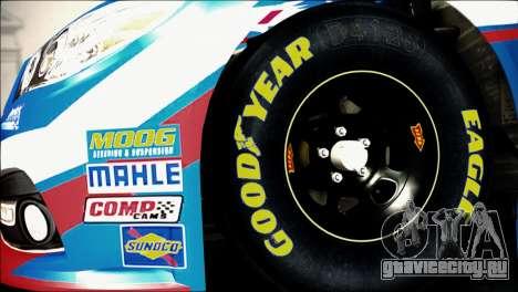 Chevrolet SS NASCAR Sprint Cup Series 2013-2014 для GTA San Andreas вид сзади слева