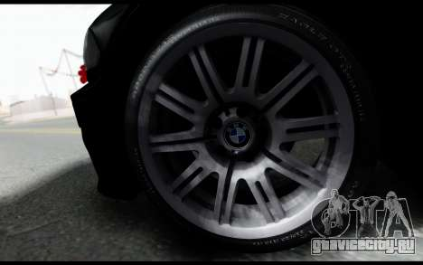 BMW M3 E46 Police для GTA San Andreas вид сзади слева