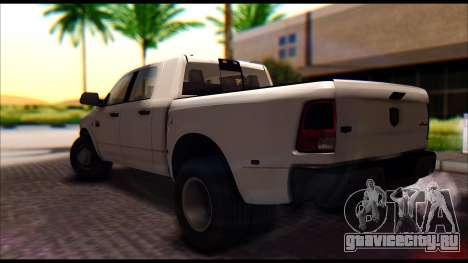 Dodge Ram 3500 Heavy Duty для GTA San Andreas вид слева