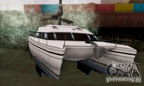 Rio из GTA Vice City для GTA San Andreas вид сзади