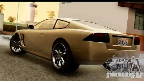 GTA 5 Ocelot F620 v2 для GTA San Andreas вид слева