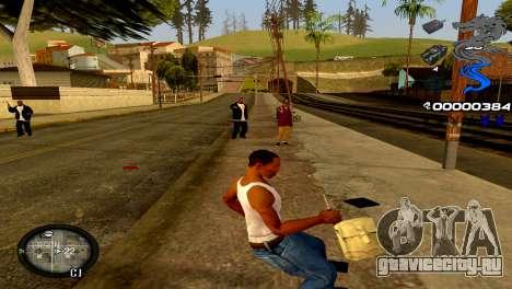 C-HUD Dragon для GTA San Andreas четвёртый скриншот