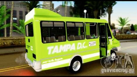 Iveco Minibus для GTA San Andreas вид слева
