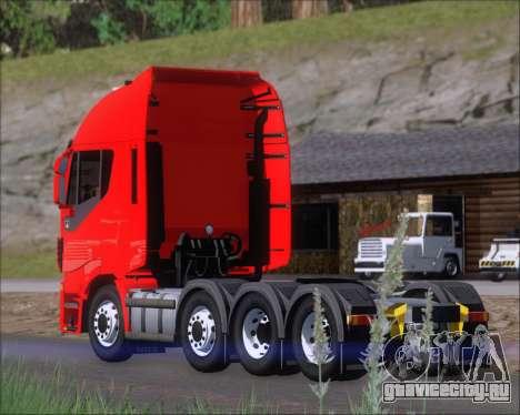 Iveco Stralis HiWay 8x4 для GTA San Andreas колёса