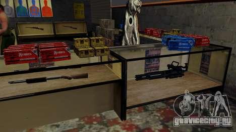 3D модели оружия в Ammu-nation для GTA San Andreas одинадцатый скриншот