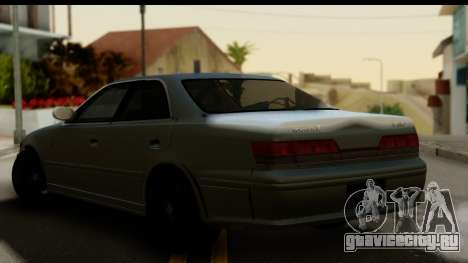 Toyota Mark 2 Stock для GTA San Andreas вид слева
