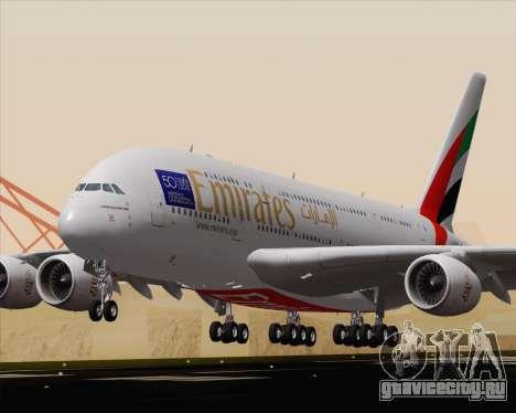 Airbus A380-800 Emirates (A6-EDJ) для GTA San Andreas