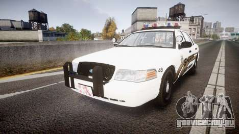 Ford Crown Victoria LCSO [ELS] Vision для GTA 4