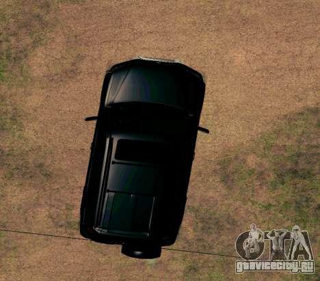 Honda CR-V для GTA San Andreas вид изнутри