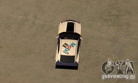 Chevrolet Camaro ZL1 RedBull для GTA San Andreas вид сзади слева