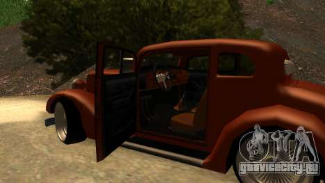 New Hustler для GTA San Andreas вид справа