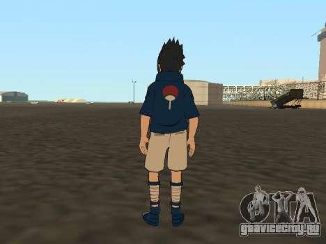 Sasuke Uchiha для GTA San Andreas