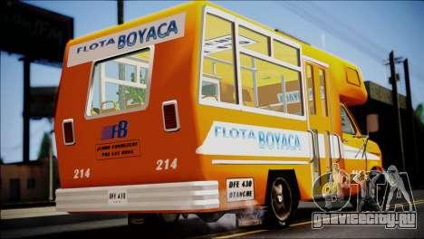 Ford E-150 Bus для GTA San Andreas вид слева