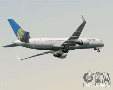 Boeing 757-200 Continental Airlines для GTA San Andreas двигатель