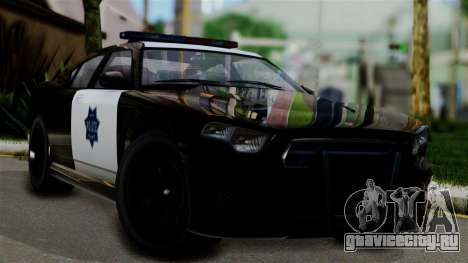 GTA 5 Buffalo S Taxi для GTA San Andreas