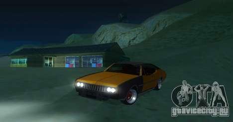 Clover JDM для GTA San Andreas вид слева