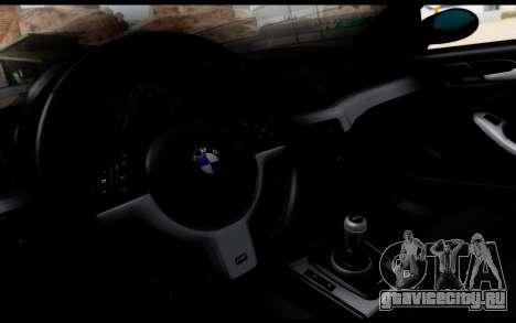 BMW M3 E46 Police для GTA San Andreas вид справа