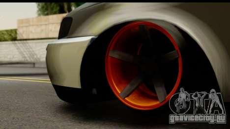 Toyota Corolla ENS Tuning для GTA San Andreas вид сзади слева