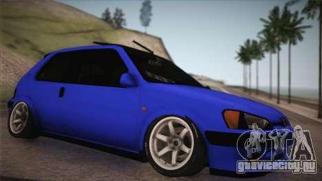 Peugeot 106 GTI F Tuning для GTA San Andreas