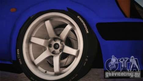 Peugeot 106 GTI F Tuning для GTA San Andreas вид сзади слева