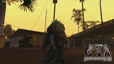 Katana from Killingfloor для GTA San Andreas второй скриншот