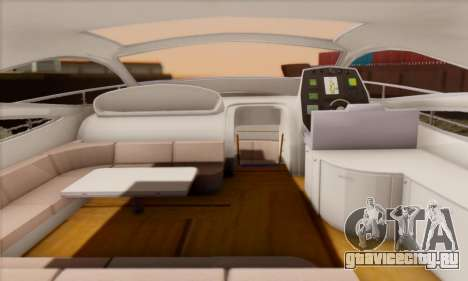 Speed Yacht для GTA San Andreas вид справа