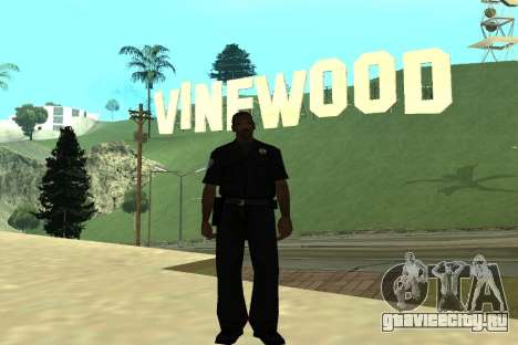 Black Police All для GTA San Andreas четвёртый скриншот