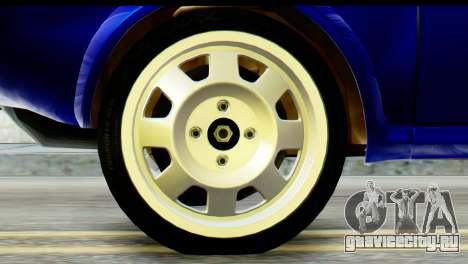 Dacia 1300 B 89 WRC для GTA San Andreas вид сзади слева