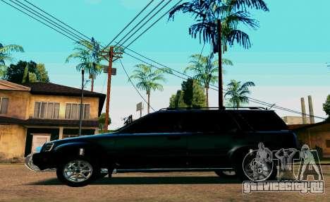 Honda CR-V для GTA San Andreas вид сзади слева