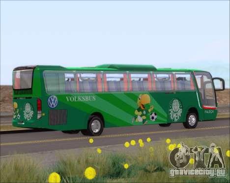 Busscar Vissta Buss LO Palmeiras для GTA San Andreas вид сзади