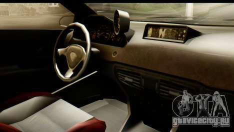 GTA 5 Benefactor Schwartzer IVF для GTA San Andreas вид сзади