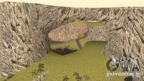 Озеленение пустыни для GTA San Andreas пятый скриншот