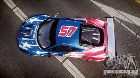Ferrari 458 GT2 Stevenson Racing для GTA 4 вид справа