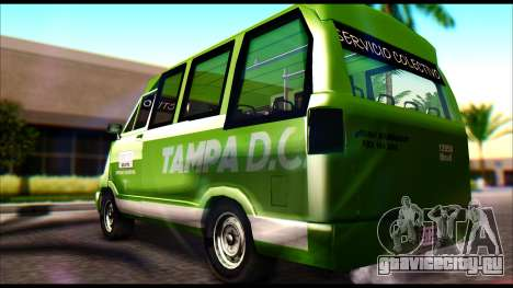 Toyota Microbus для GTA San Andreas вид слева