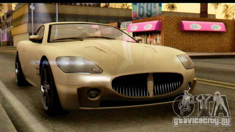 GTA 5 Ocelot F620 v2 для GTA San Andreas вид справа