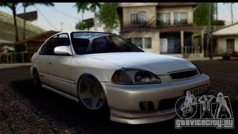 Honda Civic Park Garage для GTA San Andreas