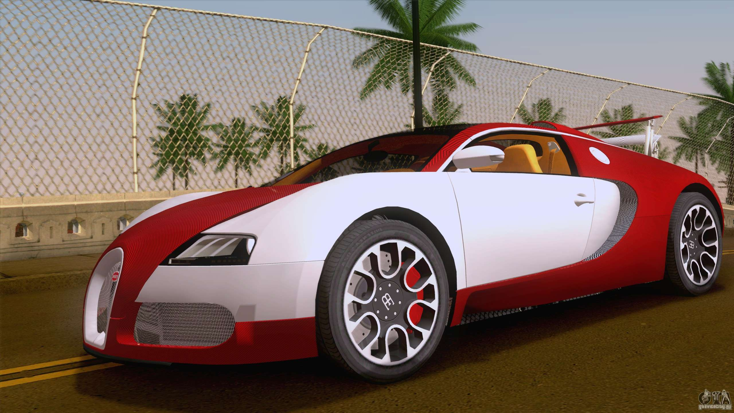 bugatti veyron grand sport sang bleu 2008 gta san andreas. Black Bedroom Furniture Sets. Home Design Ideas