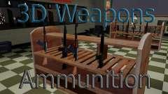 3D модели оружия в Ammu-nation