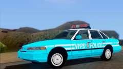 Ford Crown Victoria NYPD Blue для GTA San Andreas